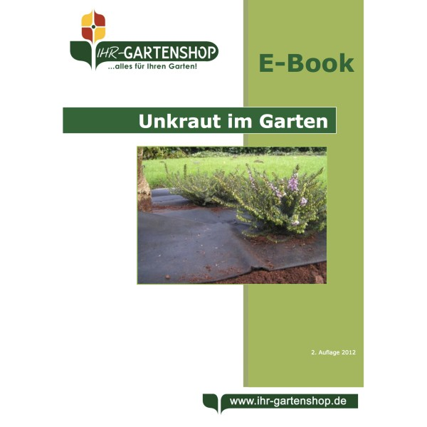 e book unkraut im garten ihr gartenshop. Black Bedroom Furniture Sets. Home Design Ideas